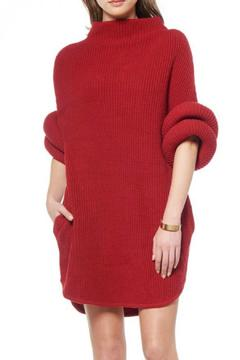 Shoptiques Product: Red Sweater Dress