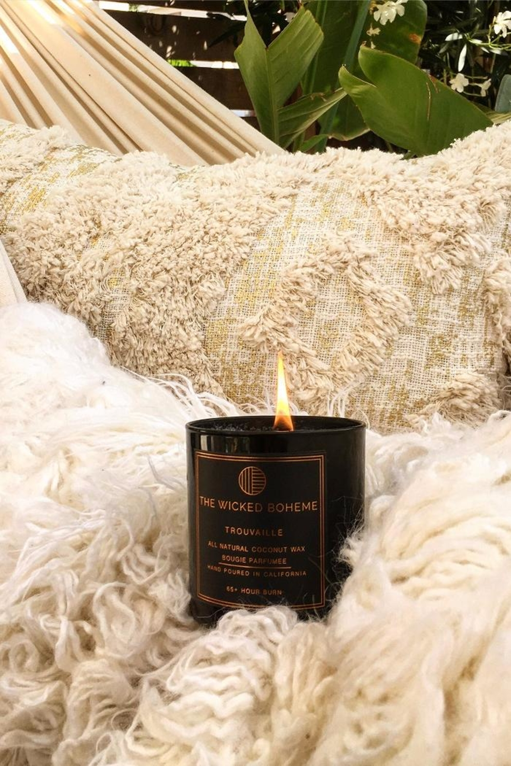 The Wicked Boheme Gypsy Noir Candle - Main Image