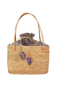 The Winding Road Small Artisan Tote - Product List Image