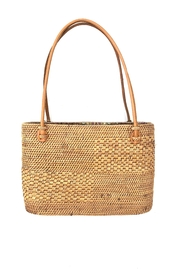 The Winding Road Small Artisan Tote - Front full body