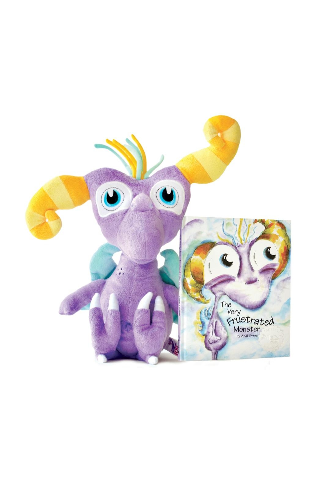 The Worry Woo Monsters Twitch Plush & Storybook - Main Image