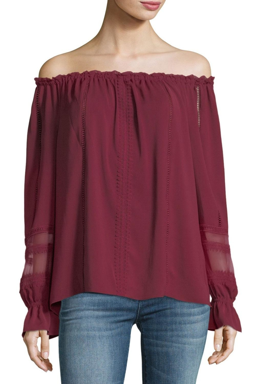 Ramy Brook Thea Blouse - Side Cropped Image