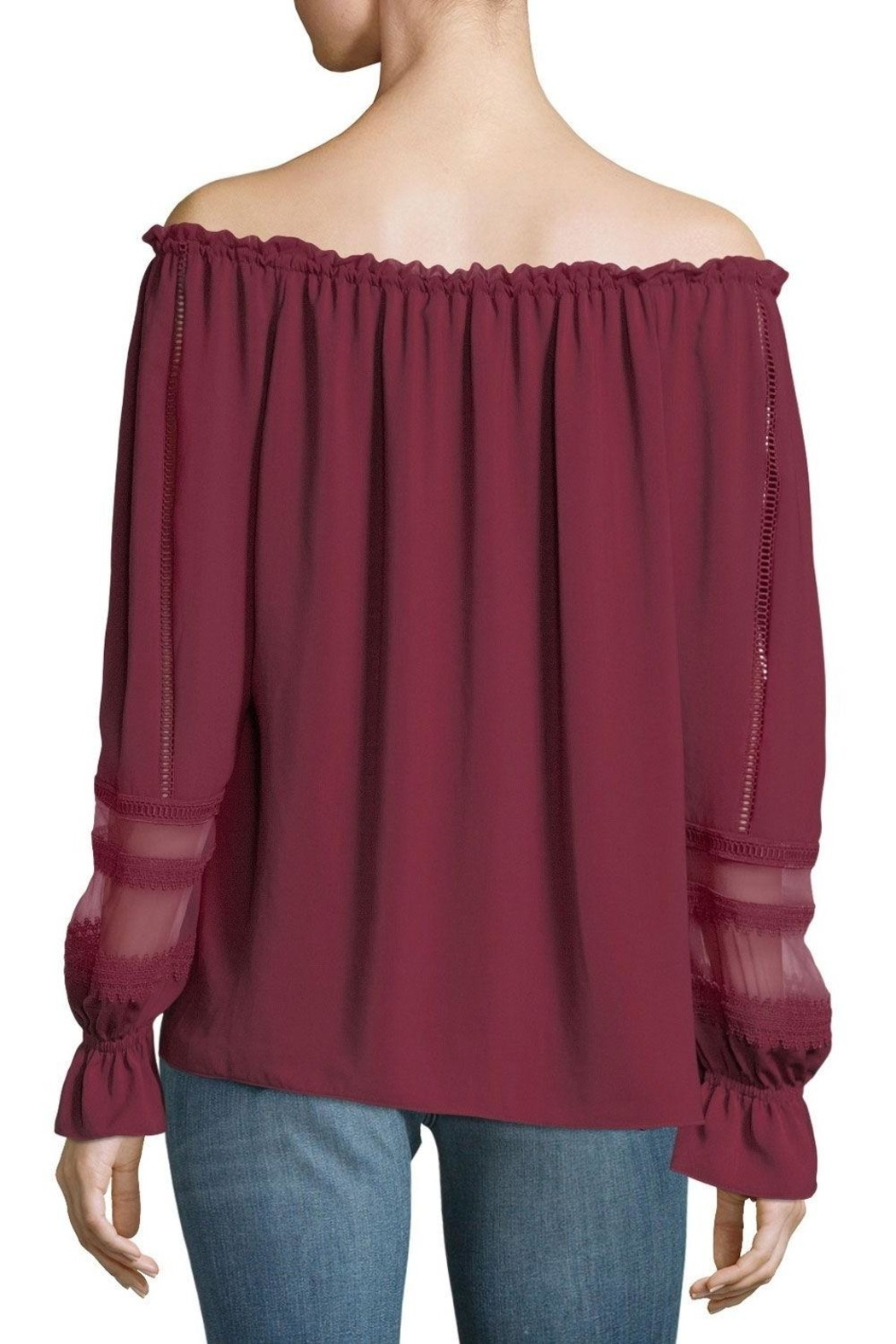 Ramy Brook Thea Blouse - Back Cropped Image