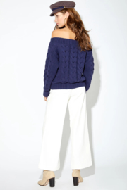 Callahan Thea Sweater - Back cropped