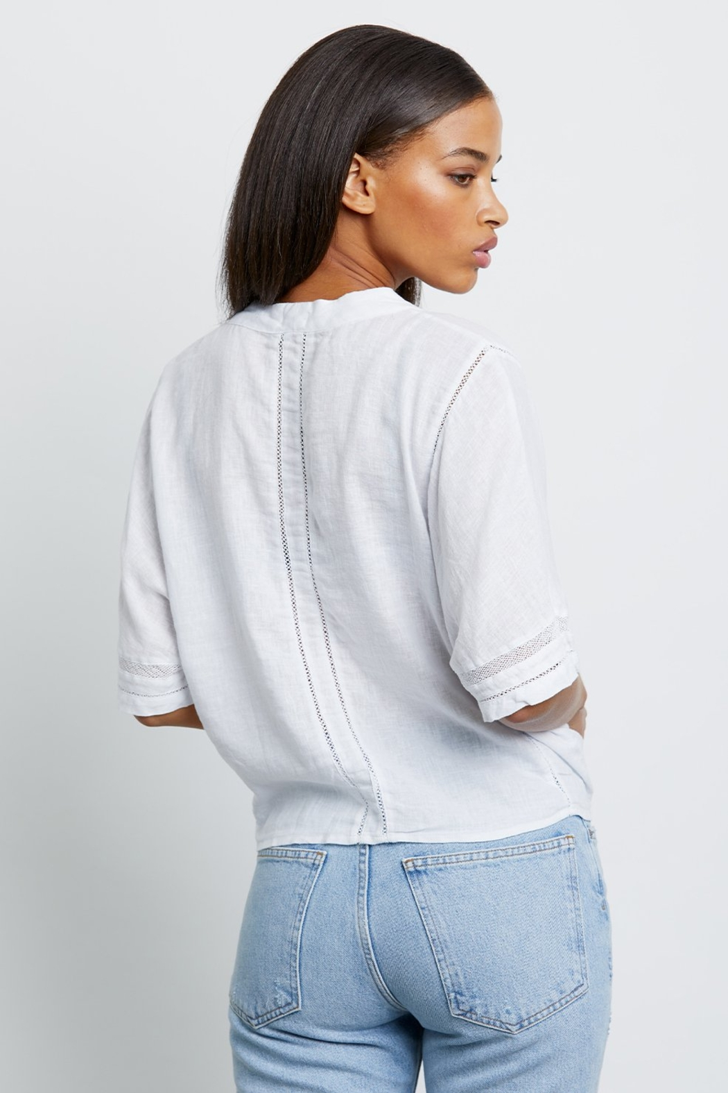 Rails Thea White Lace - Side Cropped Image