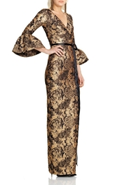 Theia Three Quarter Sleeve Gown - Product Mini Image