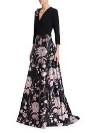 Theia 3/4 Sleeve Gown - Product Mini Image