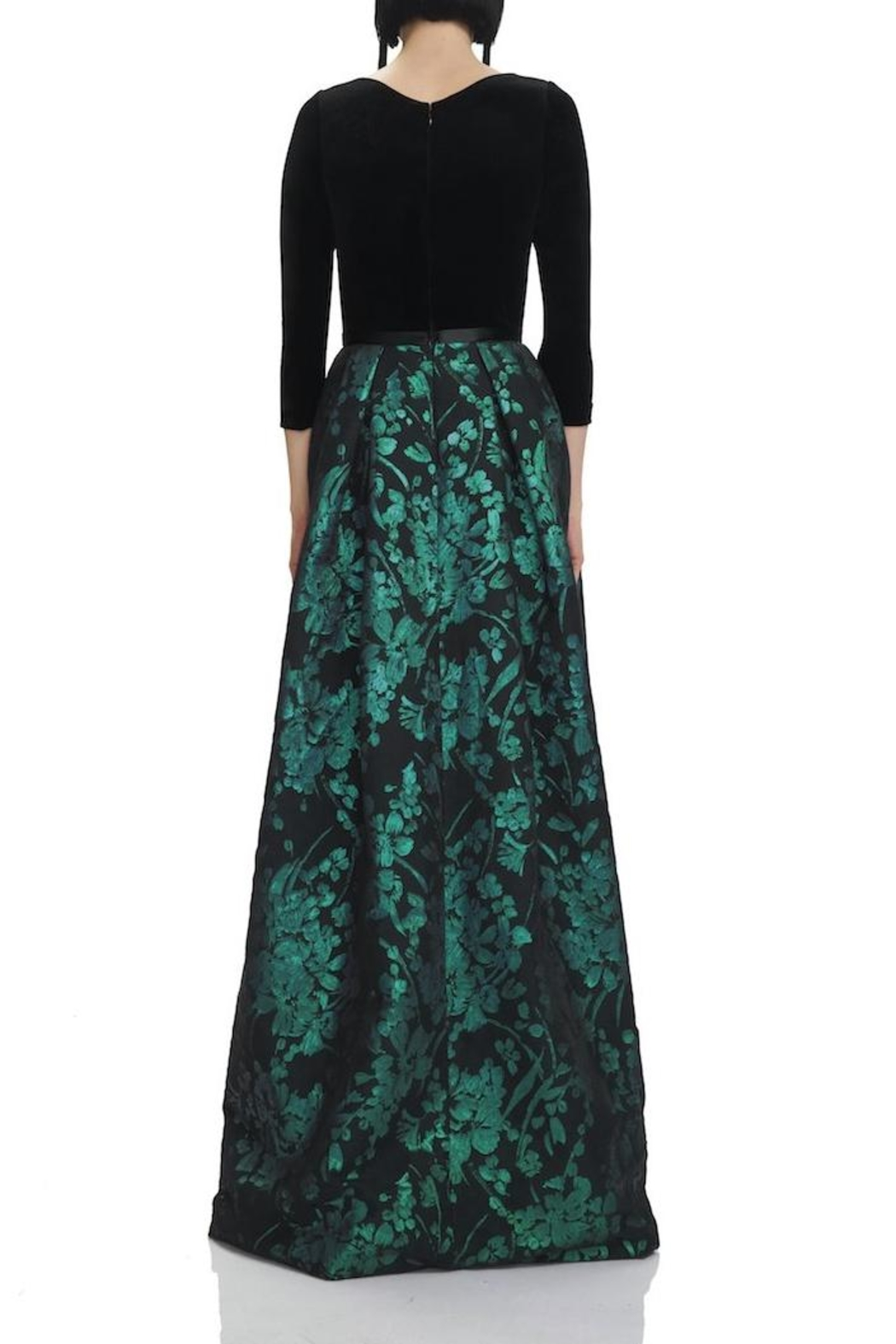 Theia 3/4 Sleeve Gown from New Jersey by District 5 Boutique ...