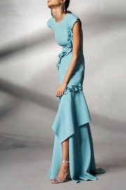 Theia Cap Sleeve Gown - Product Mini Image