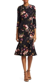 Theia Floral Cocktail Dress - Product Mini Image