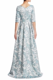Theia Floral Evening Gown - Front full body
