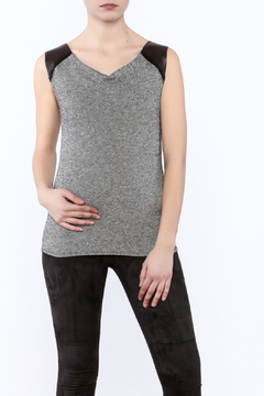 Theia Grazi Tweed Tank - Product List Image