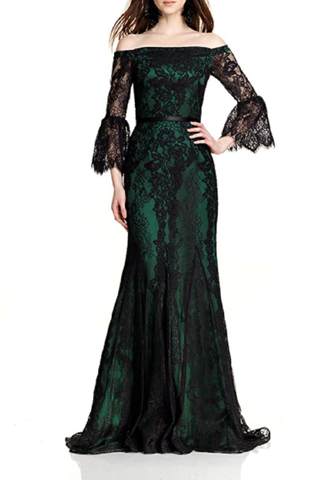 Theia Lace Gown from New Jersey by District 5 Boutique — Shoptiques