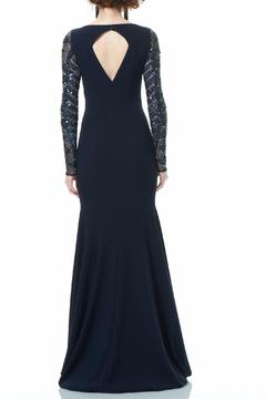Theia Long Sleeve Gown - Alternate List Image