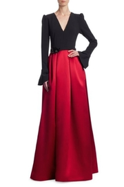 Theia Long Sleeve Gown - Product Mini Image