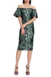Theia Off Shoulder Dress - Product Mini Image