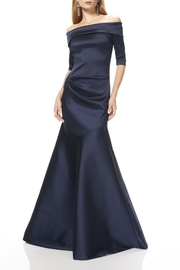 Theia Off Shoulder Gown - Product Mini Image