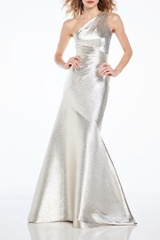 Theia One Shoulder Gown - Product Mini Image