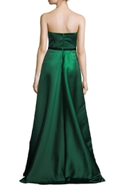 Theia Strapless Evening Gown - Front full body