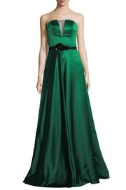 Theia Strapless Evening Gown - Product Mini Image