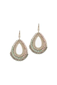 Theia Swarovski Drop Earrings - Alternate List Image