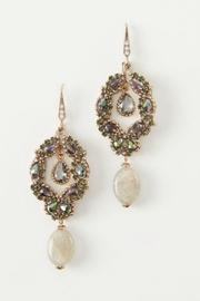 Theia Swarovski Labradorite Earrings - Product Mini Image