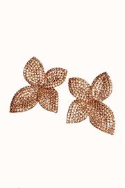 Theia Jewelry Plumeria Flower Earrings - Product Mini Image