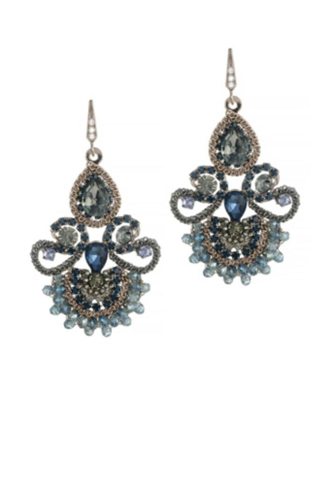 theia jewelry vintage blue earrings from dallas by gemma