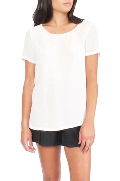 TheKorner White Crossback Blouse - Product List Image