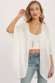Bluivy Thelma Lightweight Dolman Cardigan - Product Mini Image