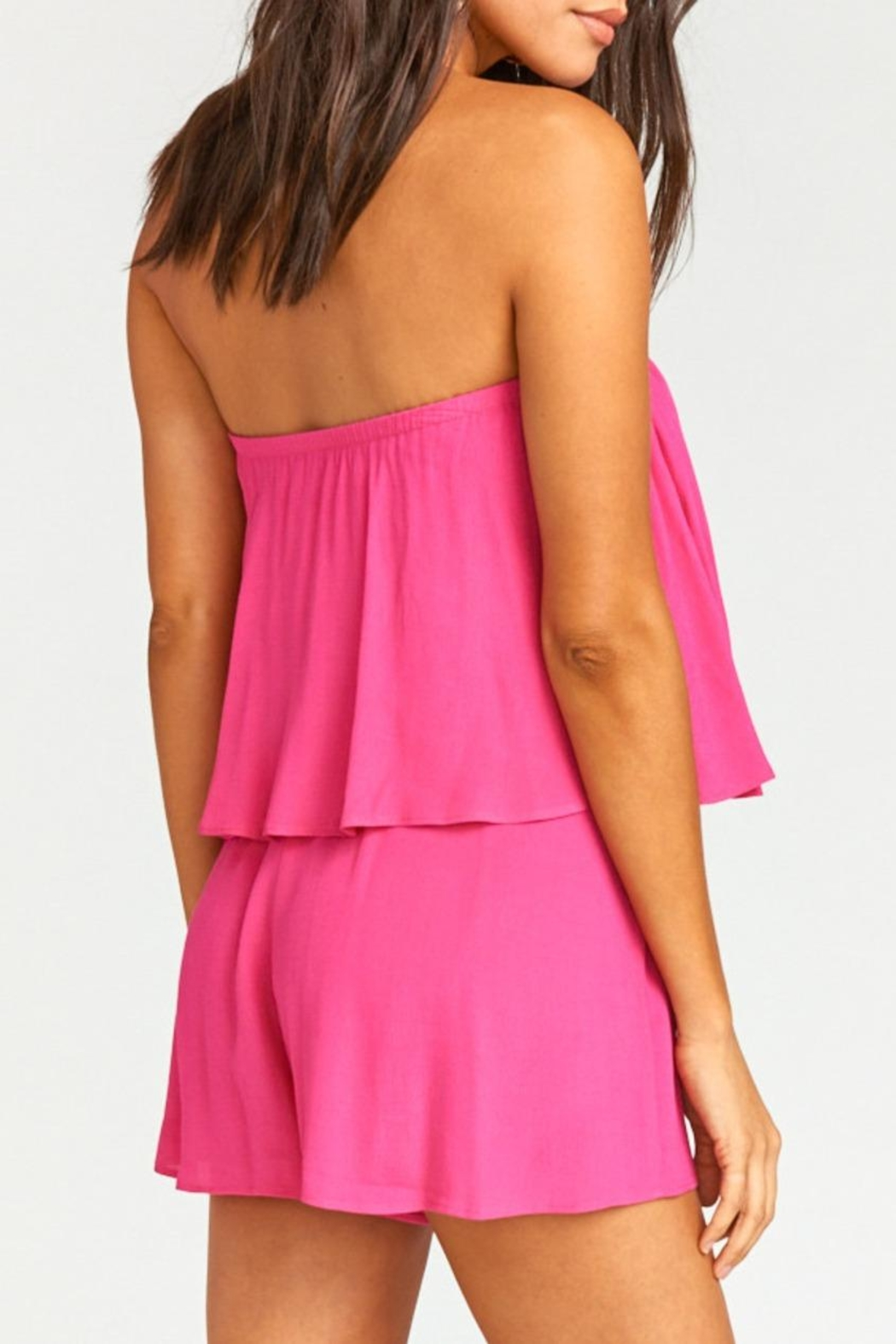 Show Me Your Mumu Thelma Romper - Back Cropped Image