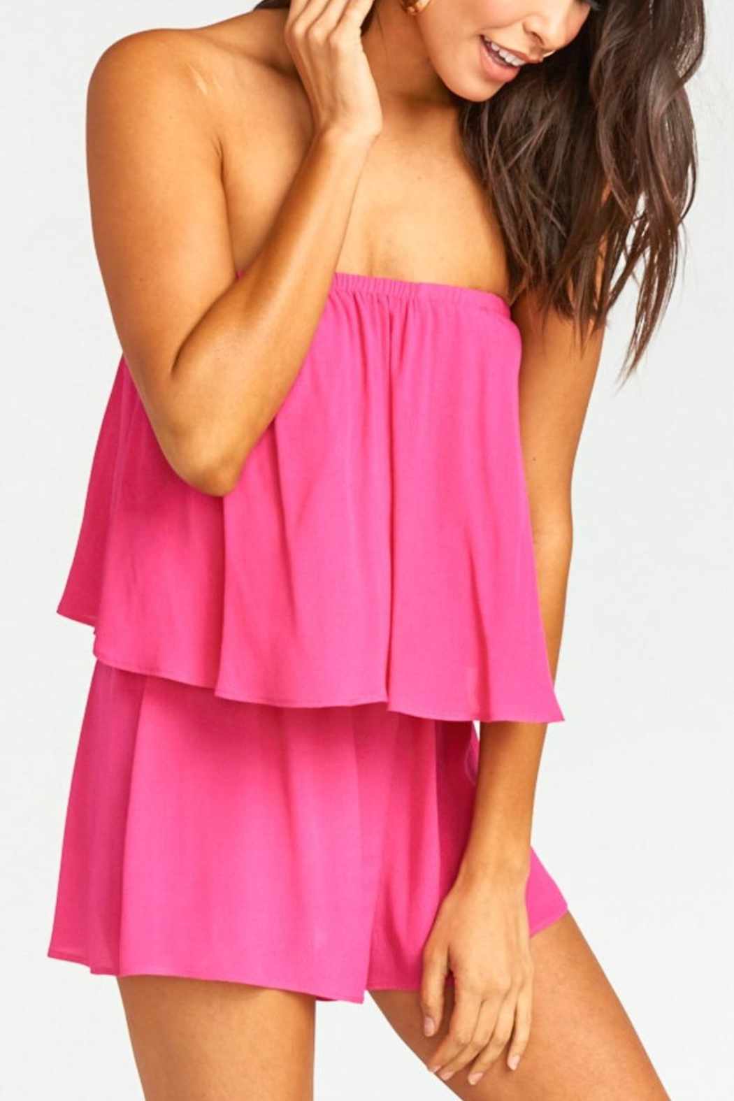 Show Me Your Mumu Thelma Romper - Side Cropped Image