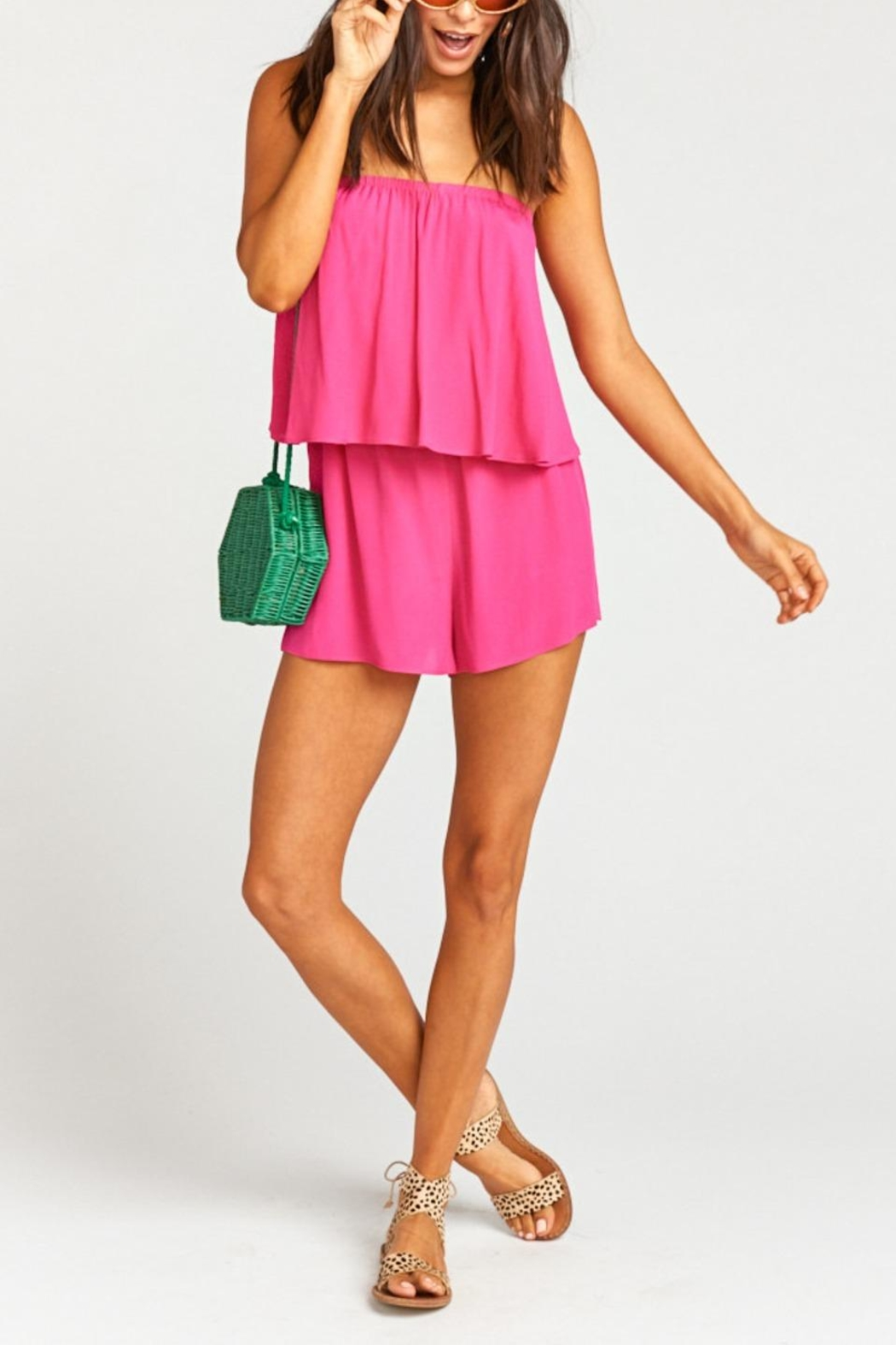 Show Me Your Mumu Thelma Romper - Front Cropped Image