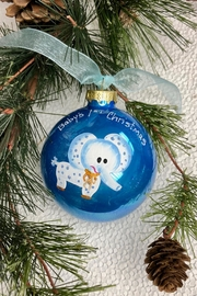 Thelma L. Hamilton Designs Handpainted Elephant Ornament - Product Mini Image