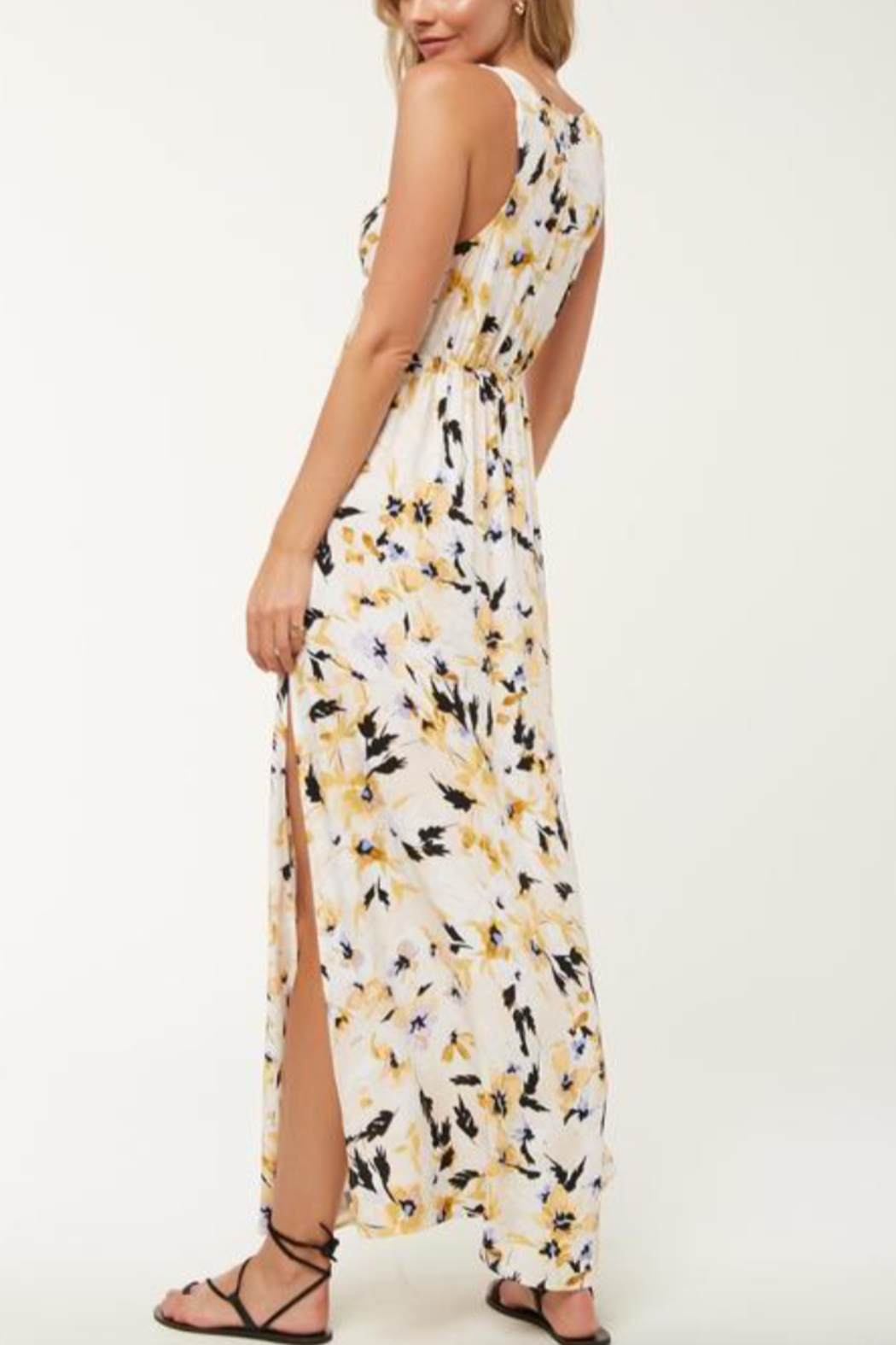 O'Neill Theodora FLoral Maxi Dress - Front Full Image