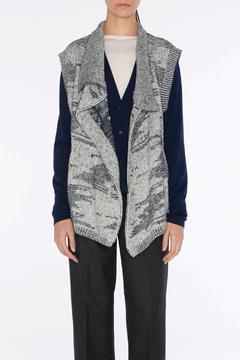 Shoptiques Product: Draped Jacquard Vest