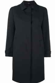 Theory Black car coat - Product Mini Image