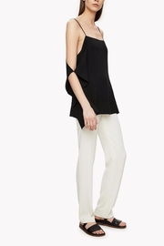 Theory Black Crepe Top - Product Mini Image