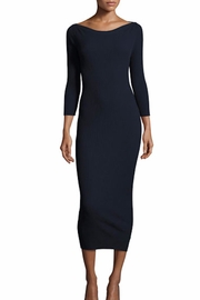 Theory Blue Ribbed Dress - Product Mini Image