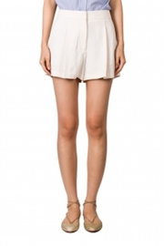 Theory Crepe Pleated Shorts - Product Mini Image
