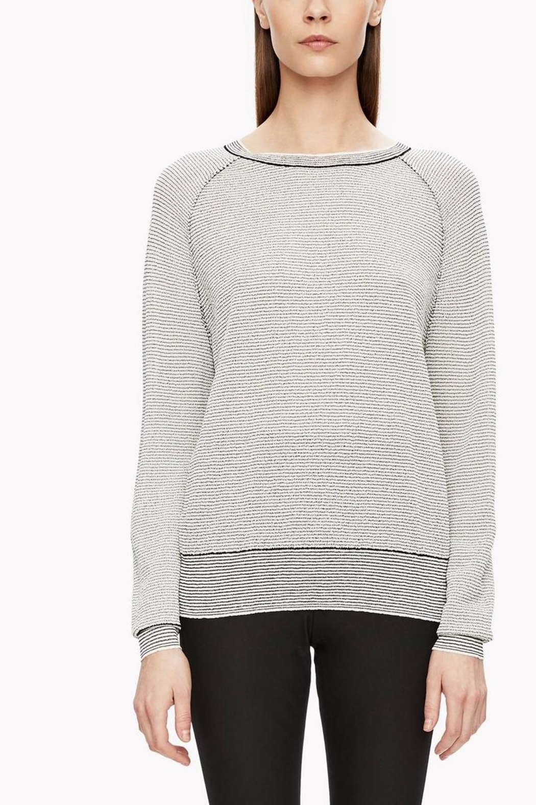 Theory Crimped Knit Sweater - Main Image