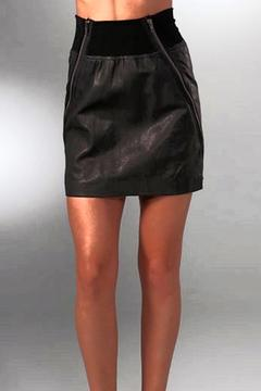 Shoptiques Product: Lambskin Leather Skirt