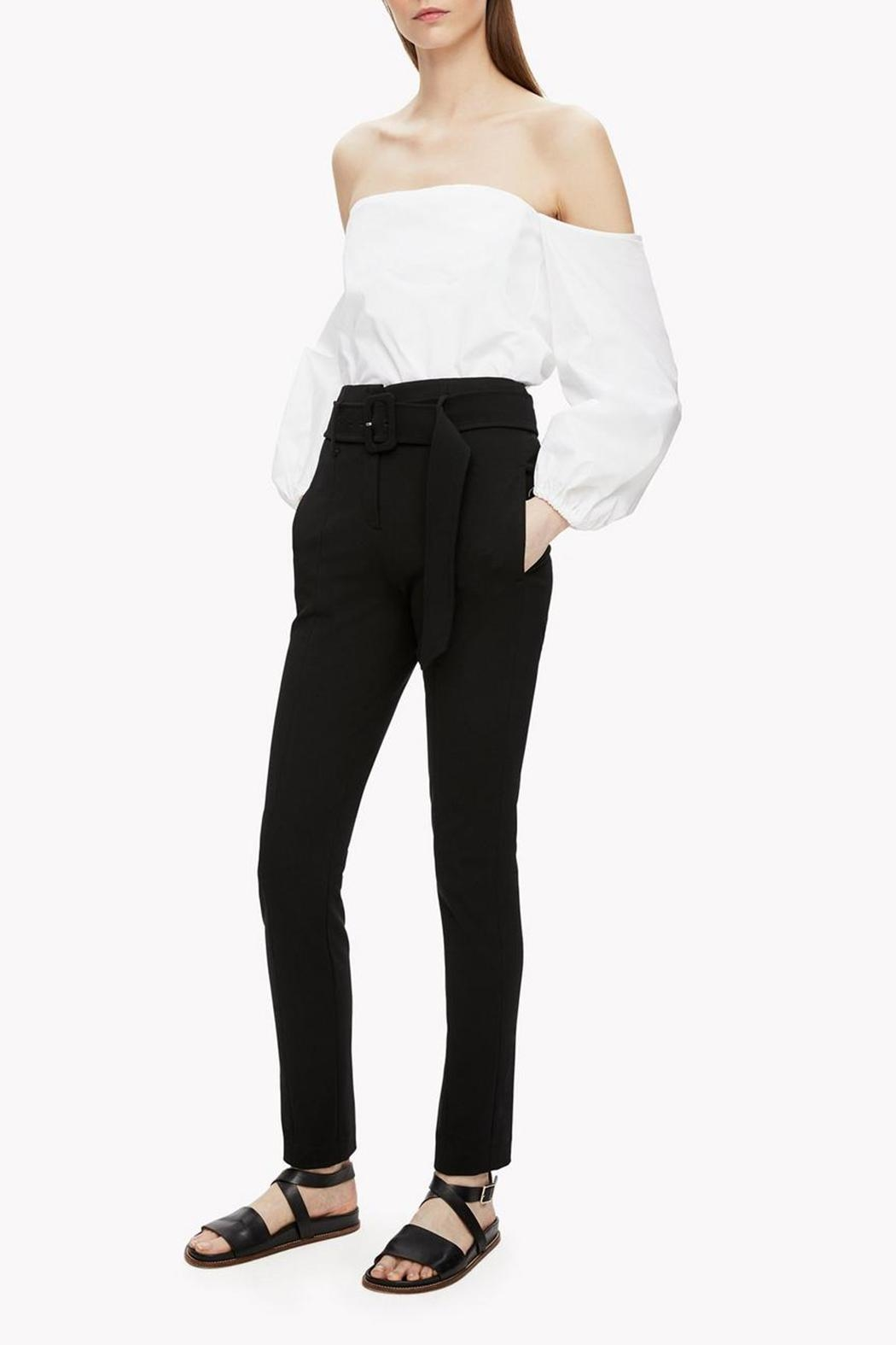 Theory Off Shoulder Blouse - Side Cropped Image