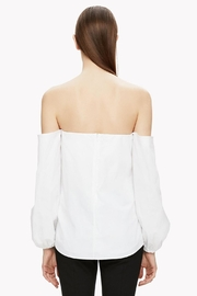 Theory Off Shoulder Blouse - Front full body