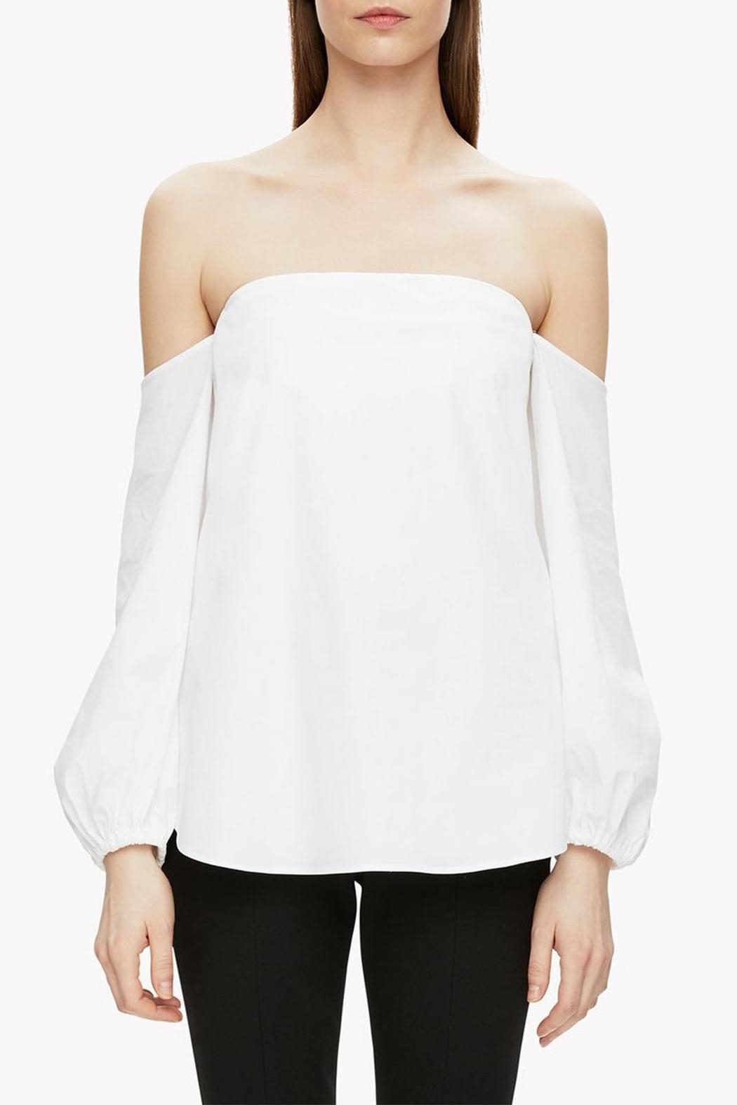 Theory Off Shoulder Blouse - Main Image