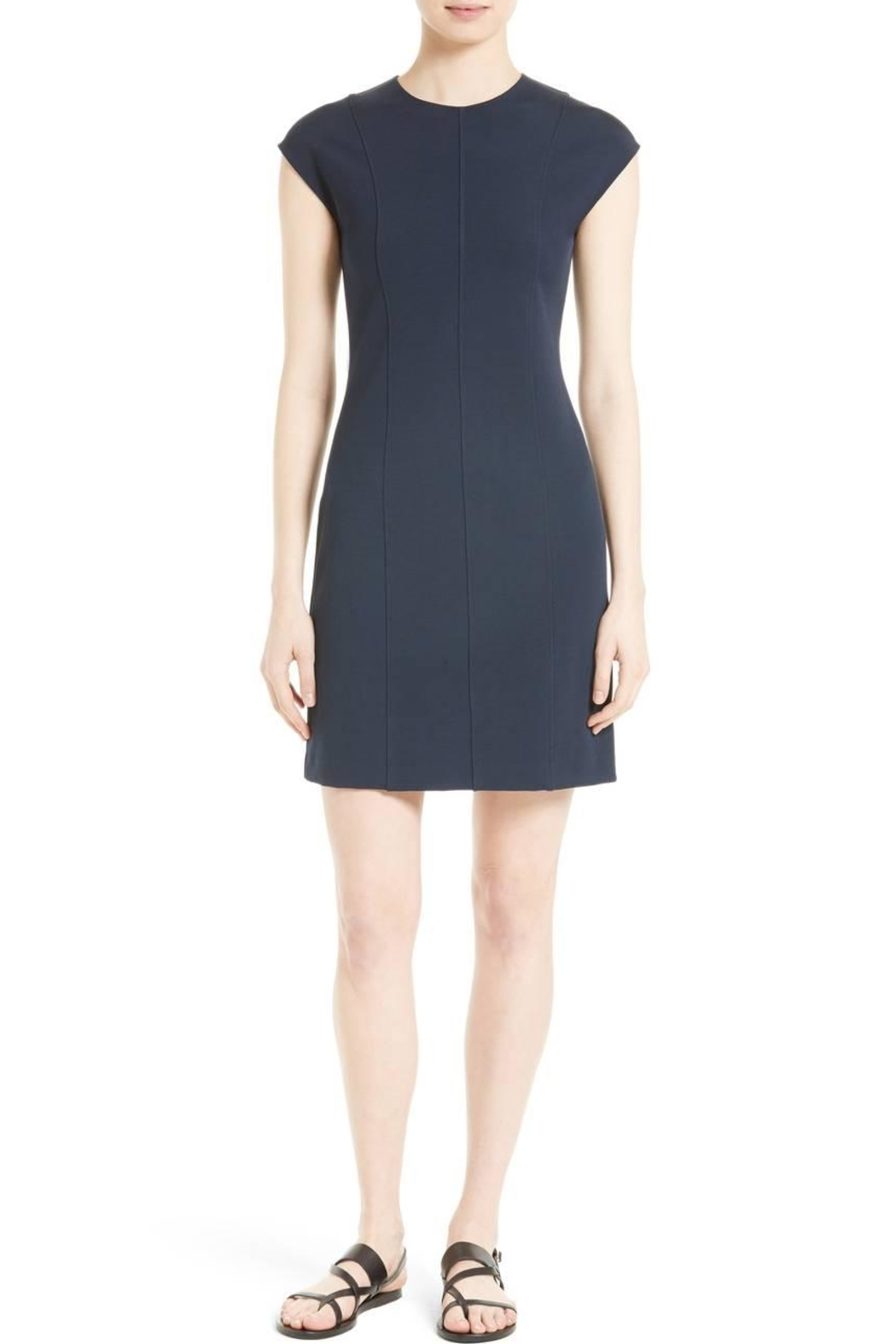 Theory Pique Capsleeve Dress - Main Image