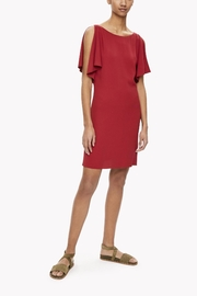 Theory Red Silk Dress - Product Mini Image