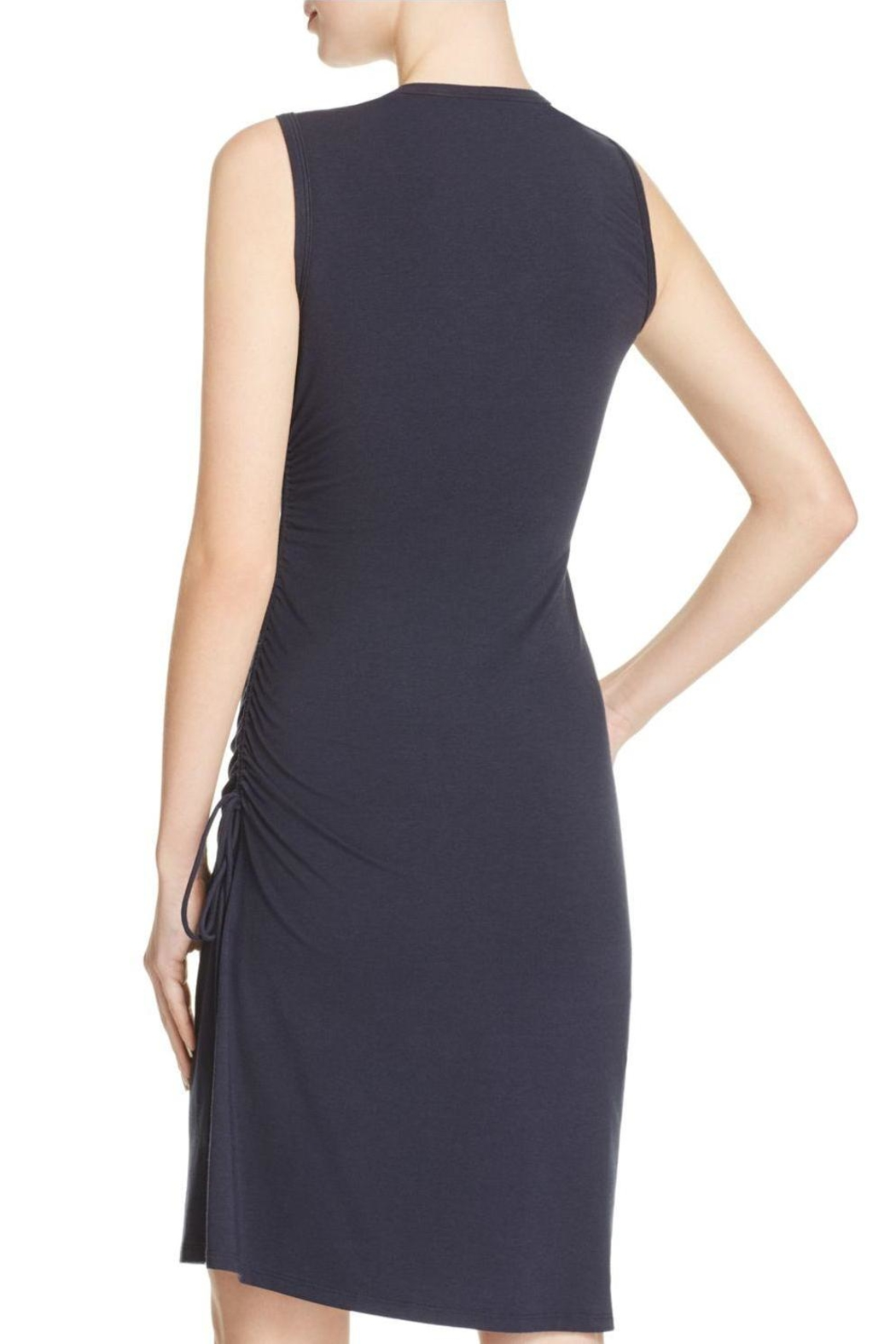 Theory Rimaeya Drawcord Dress - Front Full Image