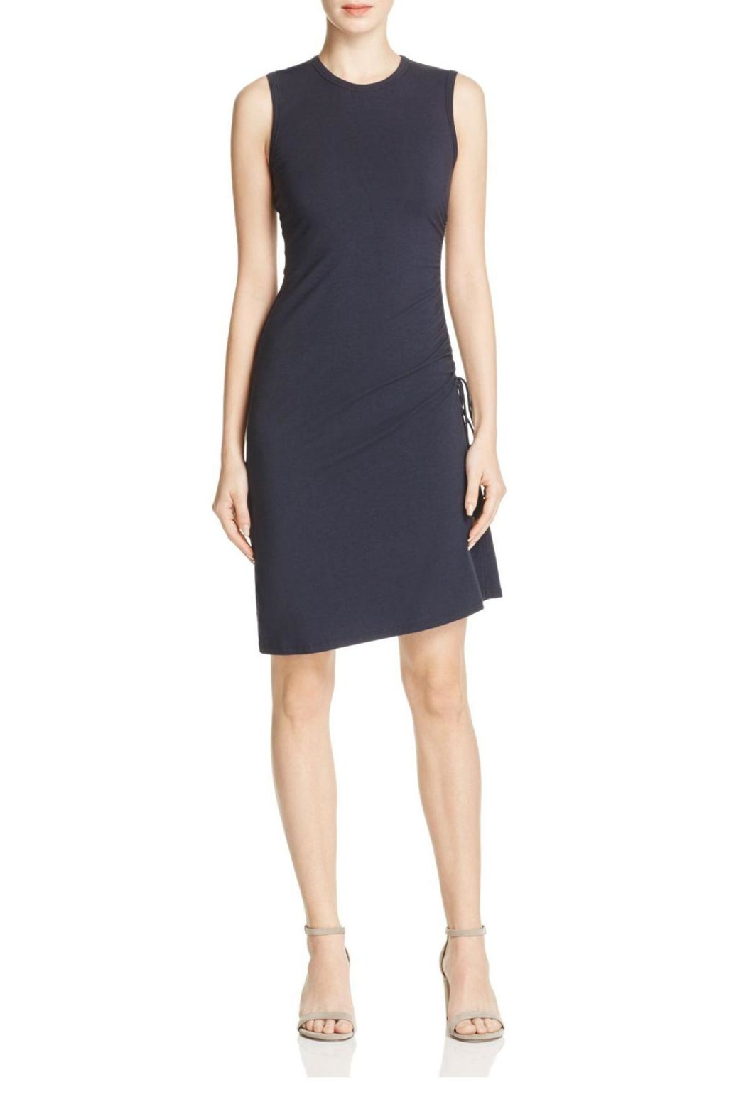 Theory Rimaeya Drawcord Dress - Front Cropped Image