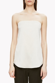 Theory Satin Strapless Top - Product Mini Image